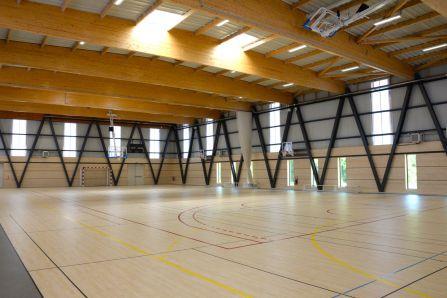 Salle sports collectifs complexe sportif Pierre Minssieux Brignais