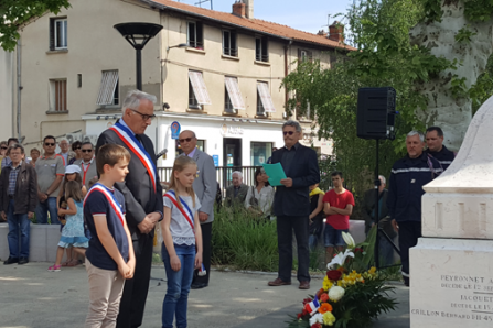 cérémonie commémorative 8 mai 1945 CMJ Brignais