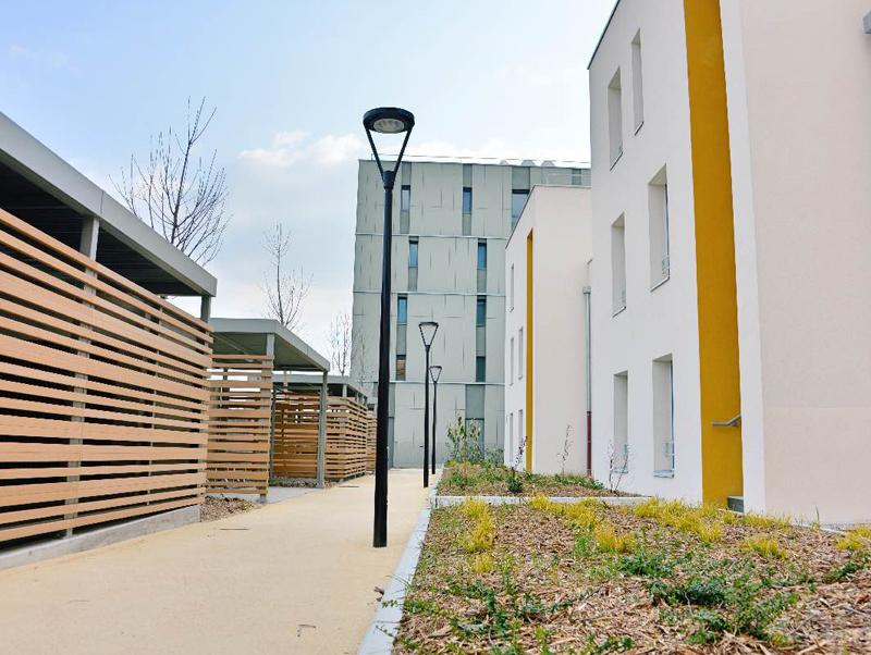 Nouvelles résidences quartiers Pérouses Brignais