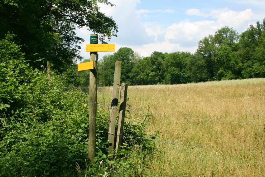 Vallée en Barret sentiers pédestres