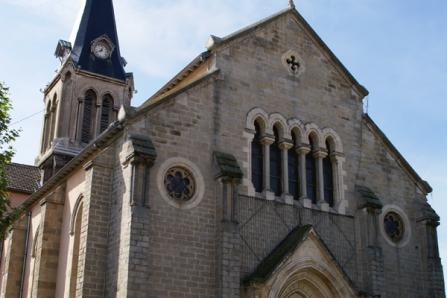 Eglise St Clair à Brignais