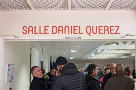 Salle convivialité Daniel Quérez complexe sportif Pierre Minssieux Brignais