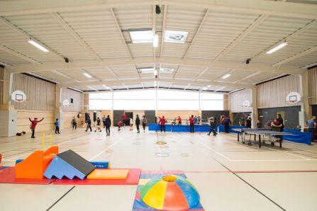 Salle multi-activités complexe sportif Pierre Minssieux Brignais