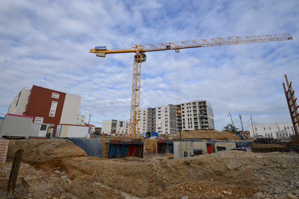 Construction ORU Pérouses Brignais