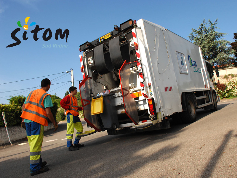 SITOM collecte déchets Brignais