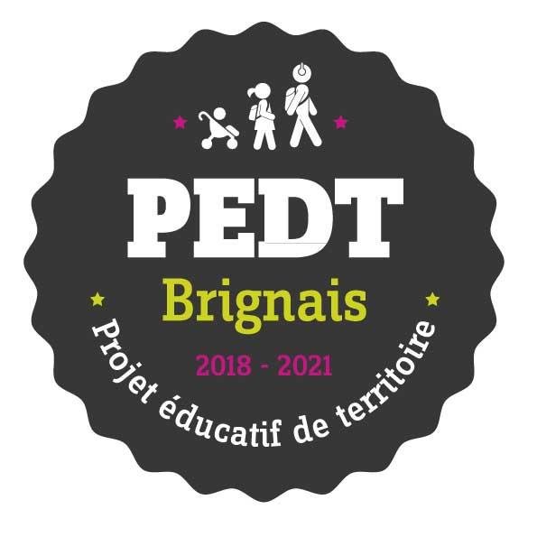 Logo projet educatif territoire Brignais
