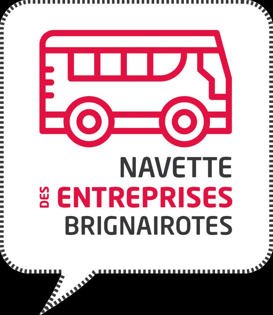 logo navette entreprises Brignais