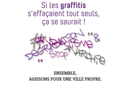 Campagne Propreté graffitis Brignais