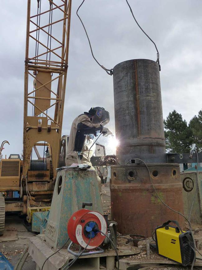 Travaux Syseg bassin stockage eaux pluviales secteur Gare Brignais